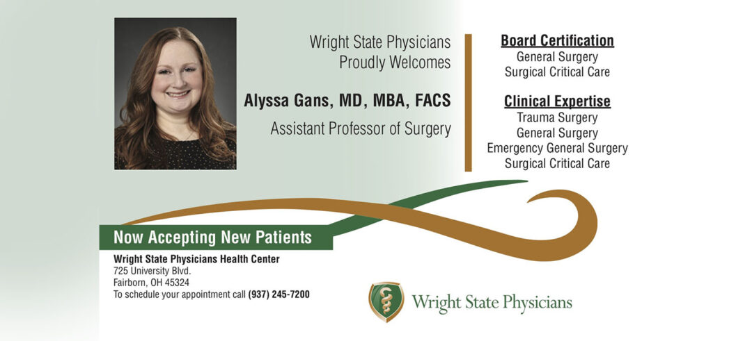 Dr. Alyssa Gans, M.D., M.B.A., F.A.C.S. is now accepting new patients